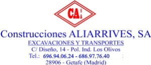 Aliarrives, obra civil en Madrid